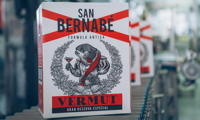 Packaging Vermut San Bernabé