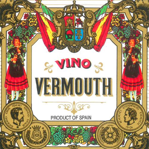 Etiqueta antigua Vermut San Bernabé