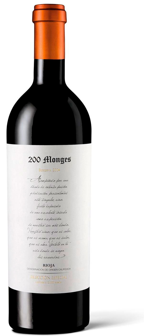 200 MONGES S. Especial Tinto 2006