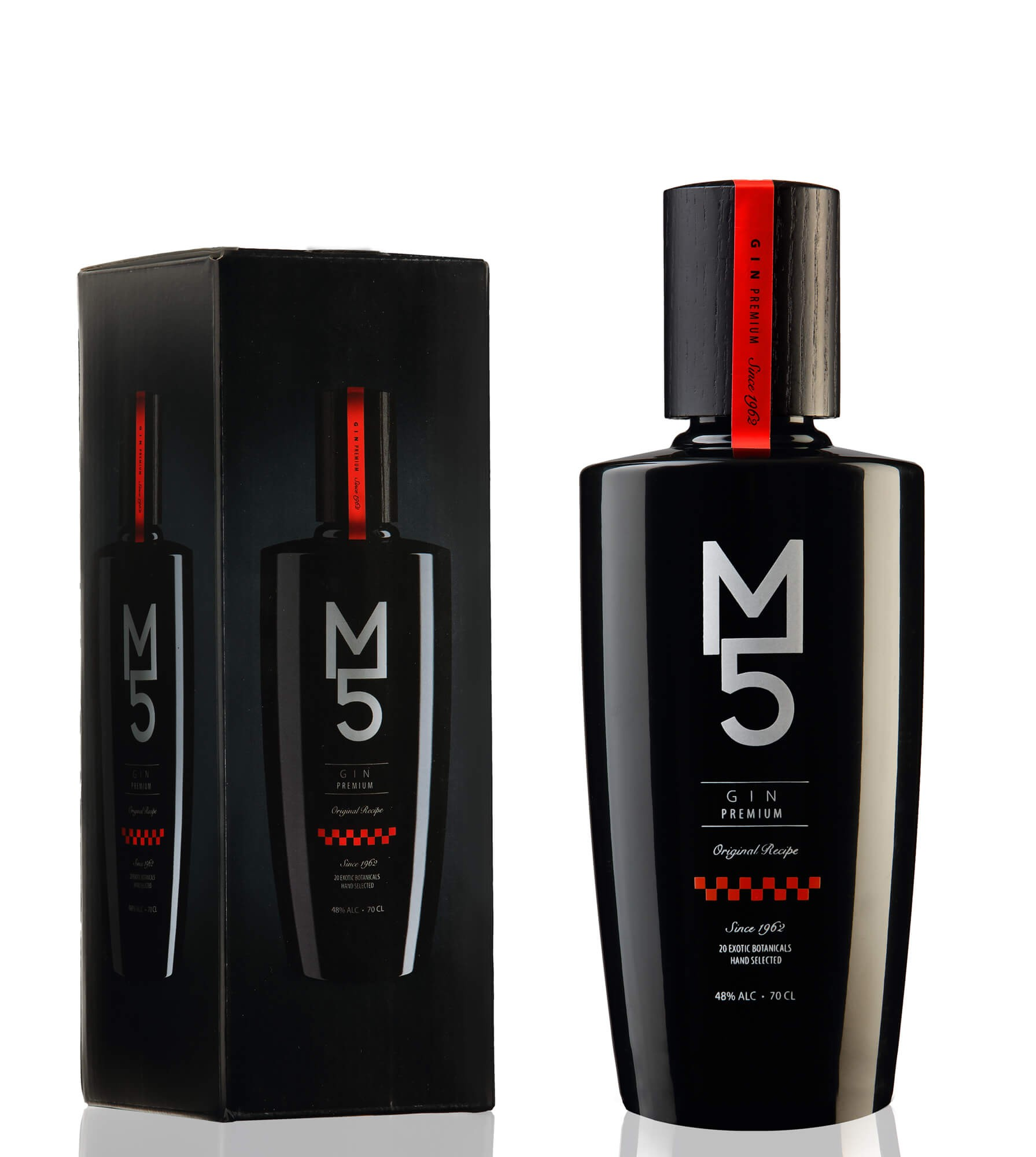 GIN M 5 PREMIUM 70cl. 48%