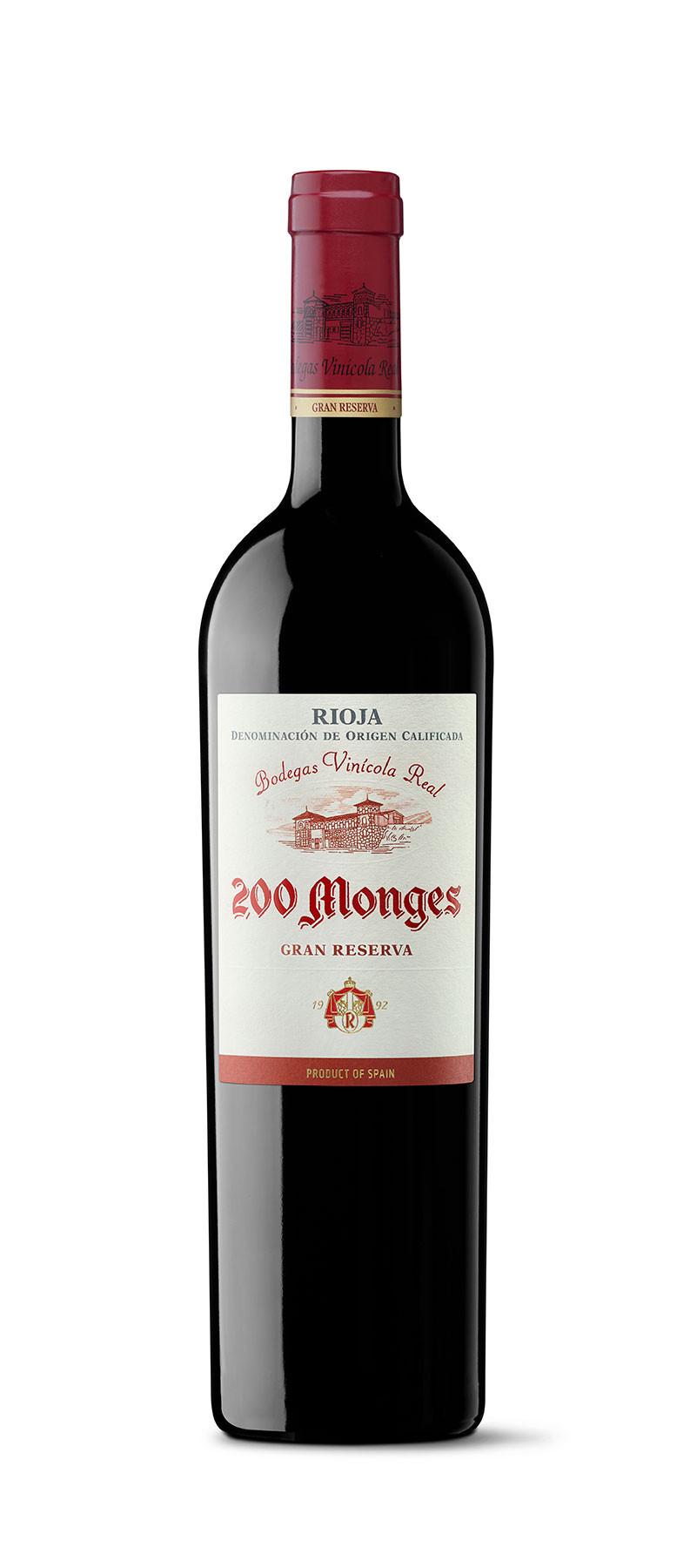 200 MONGES GRAN RESERVA TINTO 2005